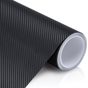 Black Carbon Fiber Vinyl | Graphcal™