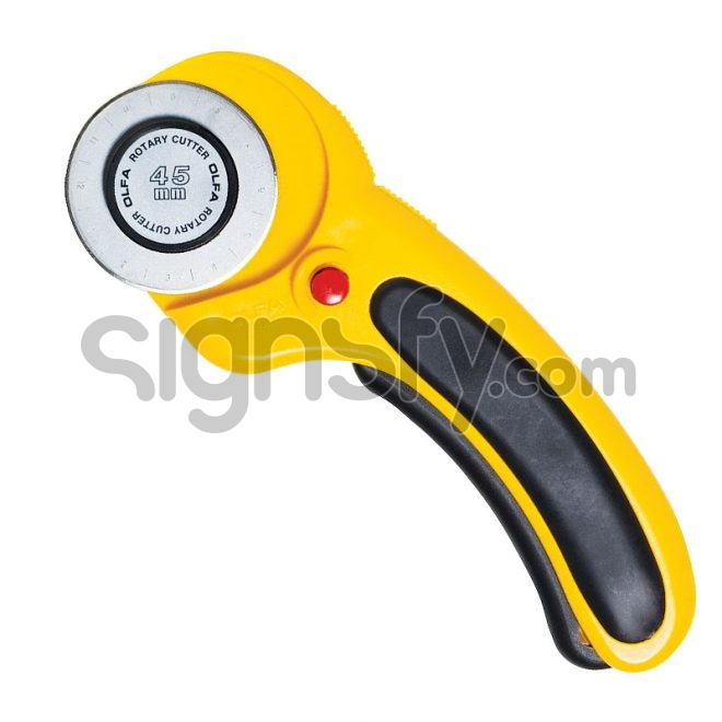 OLFA Rotary Cutter | Deluxe Handle Rotary Cutter