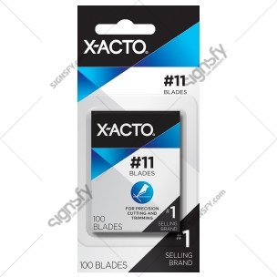 X-ACTO #11 Classic Fine Point Blade | Box of 100