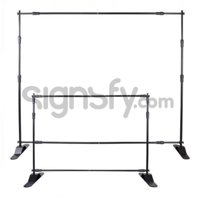 Adjustable Banner Stand Backdrop