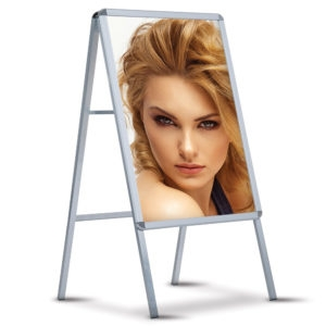 Aluminum Poster Stand Single Sided PS1