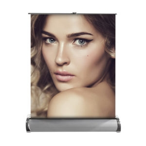 Mini Roll-up Banner Stand, Single Sided