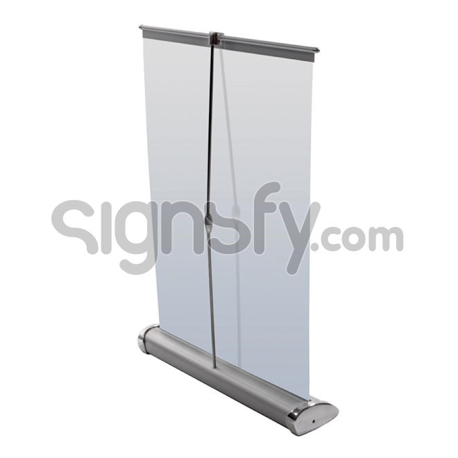 Mini Roll-up Banner Stand - Back